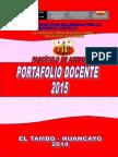 Fasiculo Portafolio Docente 2015