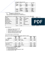 ACC-Cash Flow Statement Questions