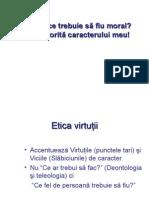 Etica Virtutii