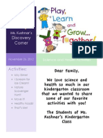 science and health newsletter