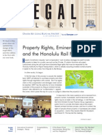 Damon Key's Legal Alert (Winter/Spring 2015) - Rail, International Investment Strategies, Funding Neighborhood Improvements, and more