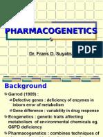 Dr. Frans Pharmacogenetics