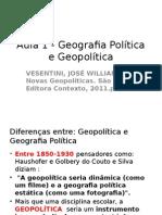 Aula 1 - Geografia Política e Geopolítica