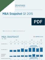 M&A Snapshot Q1 2015