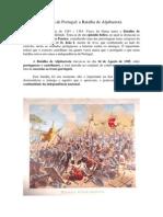 5 - História de Portugal Batalha de Aljubarrota