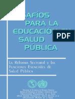 Organización Panamericana de la Salud - Desafíos para la educación en salud pública