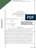 Netscape Communications Corporation et al v. Federal Insurance Company et al - Document No. 21