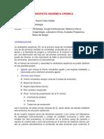 Protocolo de Cardiopatia Isquemica Cronica