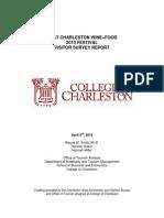 2015 Charleston Wine+Food Festival Economic Report