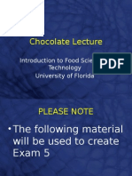 Chocolate Lecture