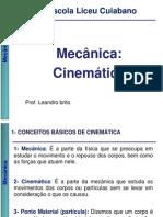 Dependência 2 Ano SESI Cinemática basica