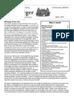 April 2015 Community Bulletin