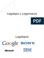 Logotipo x Logomarca