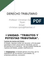 Derecho Tributario - Parte General y Limites