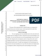 Garfield et al v. Eli Lilly and Company - Document No. 3