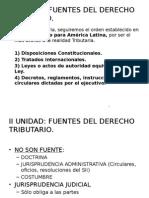 Derecho Tributario- Fuentes y Obligación Trib. Principal