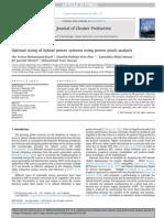 Optimization Power Systems Pinch Analysis