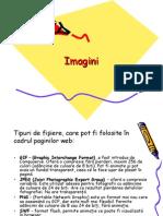 Tipuri de fişiere, care pot fi folosite în cadrul paginilor web