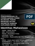 Pengembangan CD Pembelajaran f 4201406024