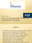 city of philadelphia office of supportive housing