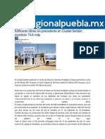 04-04-2015 Regional Puebla - Edificarán Obras Sin Precedente en Ciudad Serdán; Invertirán 74.6 Mdp