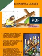 El via Crucis, Camino de La Cruz - Tipo Historieta