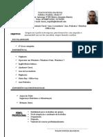 Curriculum Tiago Souza Da Silva