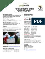 2010 Green Room Open