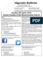 2015-04-05 - Easter Sunday B