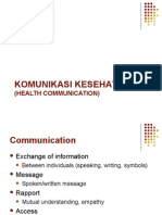Dr. Arief - Health Communication & Komunikasi Advokasi Kebidanan