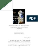 Apuntes sobre Richard Rorty