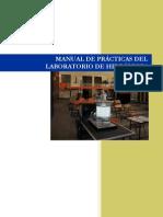 Manual de Prácticas De Laboratorio de Hidráulica