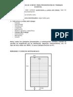 Normas Básicas de Icontec Cuchilla