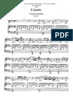 LOEWE Canzonetta pdf