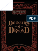 AD&D 2.0 Ravenloft - Campaign Setting, Domains of Dread