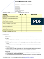 CLABSI Toolkit Tool 3-23 Daily Central Line Maintenance Checklist Word Version