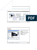 Lecture02 - Environments and OpenModelica