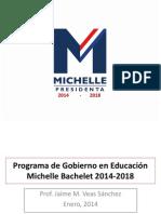 Programa de Gobierno en Educación 2014-2018