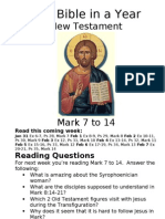 Bible in a Year 13 NT Mark 7 to 14