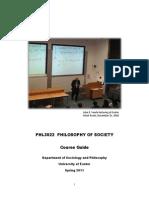 Course_Guide - Philosophy of Society (Buena Bibliografia)