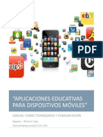 Aplicaciones Educativas Dispositivos Moviles