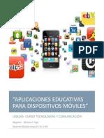 Aplicaciones Educativas Dispositivos Moviles