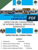 6 Exposicion Plan Leccion Aspectos Del Derecho Penal Ugarte