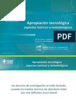 Apropiación Tecnológica Aspectos Teóricos y Metodológicos