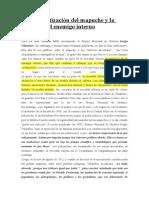 La Estigmatización Del Mapuche y La Creación Del Enemigo Interno
