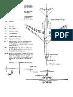 Nomenclatura técnica Secciones de Avión