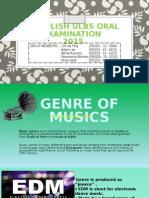 5 Ker Genre of Musics