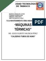 CALDERAS TUBOS DE HUMO