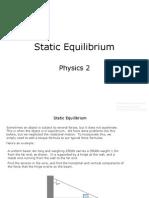 11.1 Physics 2 Static