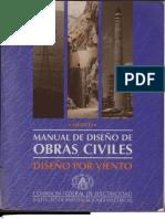Manual de Diseño de Obras Civiles Diseño Por Viento